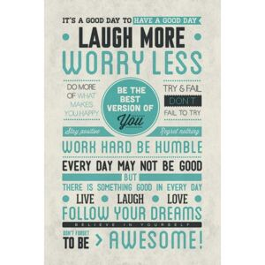Poster Be awesome, (61 x 91.5 cm)