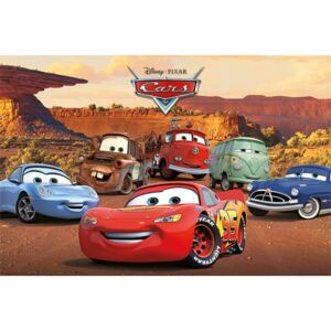 Poster Cars - Characters, (91.5 x 61 cm)