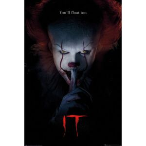 Poster IT - Pennywise Hush, (61 x 91.5 cm)