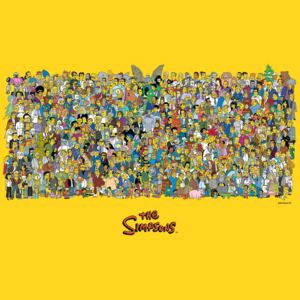 Poster The Simpsons - Characters, (91.5 x 61 cm)