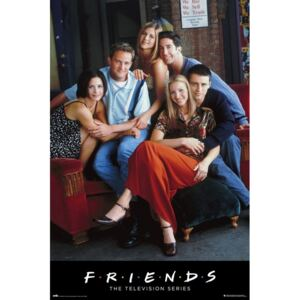 Poster Friends - Characters, (61 x 91.5 cm)