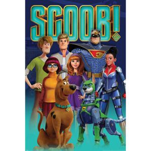 Poster Scoob! - Scooby Gang and Falcon Force, (61 x 91.5 cm)