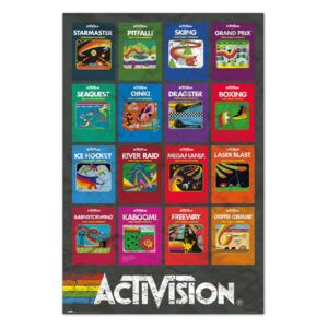 Poster Activision Game - Covers, (61 x 91.5 cm)