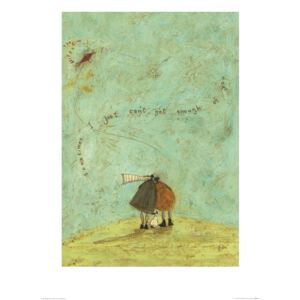 Sam Toft - I Just Can't Get Enough of You Art Print, (50 x 70 cm)
