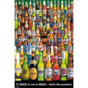 Poster To Beer or not To Beer, (61 x 91.5 cm)
