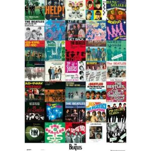 Poster The Beatles - Covers, (61 x 91.5 cm)