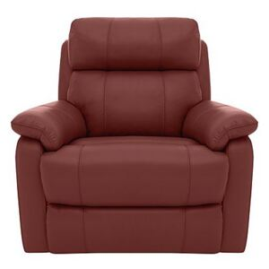 Relax Station Komodo Leather Power Armchair - Red- World of Leather