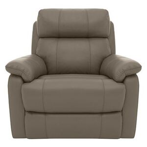 Relax Station Komodo Leather Power Armchair - Mink- World of Leather