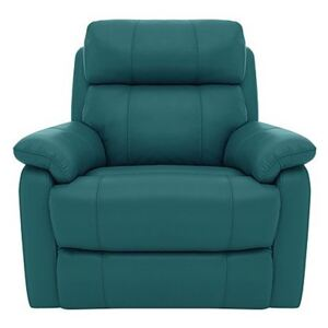 Relax Station Komodo Leather Power Armchair - Teal- World of Leather
