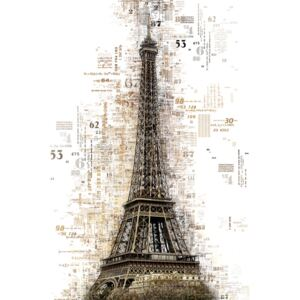 Art Photography Numbers Collection - Paris Eiffel, Philippe Hugonnard