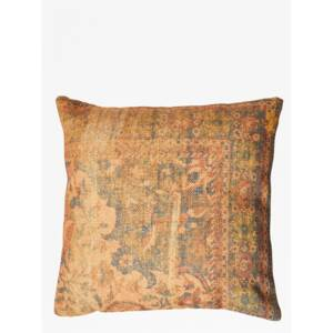 Recycled Spiced Ginger Cushion - gold