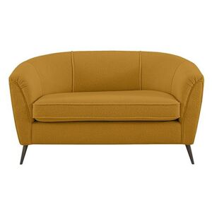 Amelie Boutique 2 Seater Fabric Sofa - Yellow