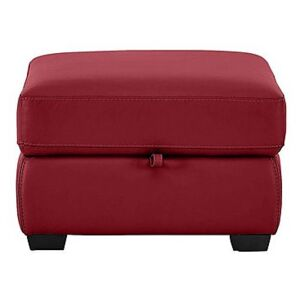 Compact Collection Petit Leather Storage Footstool- World of Leather