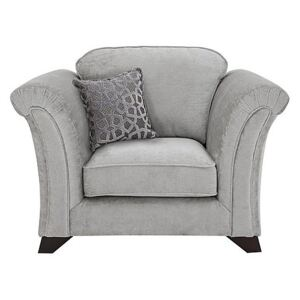 Holly Fabric Armchair Without Studs