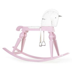 Arion Pink Rocking horse - / Giant unicorn H 180 cm - Limited, numbered edition marking 20 years of MID by Moooi Pink