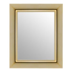 François Ghost Wall mirror - 65 x 79 cm by Kartell Gold/Metal