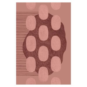 Cumulus Rug - / 200 x 300 cm - 20 years of MID limited edition by Made in design Editions Pink