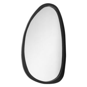 Caylin Wall mirror - / L 70 x H 120 cm - Mango wood by Bloomingville Brown/Black/Natural wood