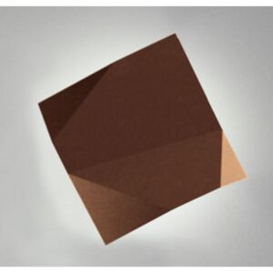 Origami Outdoor wall light by Vibia Brown