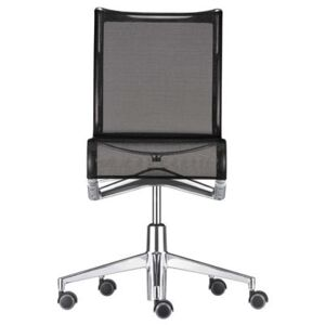Rollingframe Armchair on casters - With castors by Alias Black