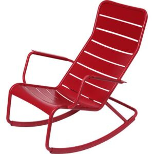 Luxembourg Rocking chair by Fermob Red