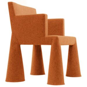 V.I.P. Chair Armchair on casters by Moooi Orange