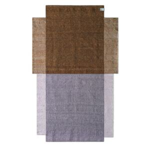 Nobsa Small Rug - / 214 x 130 cm by ames Pink/Beige