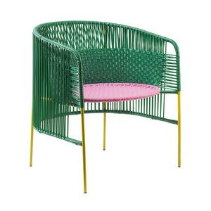 Caribe Lounge Armchair by ames Green