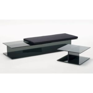 Cushion - For the I-Beam bench and sunlounger by Glas Italia Black