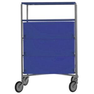 Mobil Mobile container - With 4 drawers by Kartell Blue