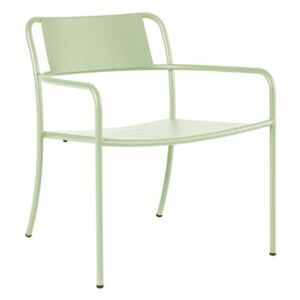 Patio Low armchair - / Stainless steel by Tolix Green