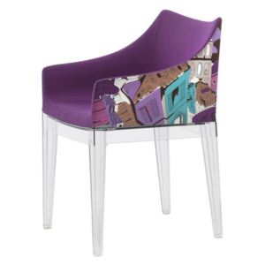 Madame Padded armchair - Emilio Pucci fabric by Kartell Multicoloured