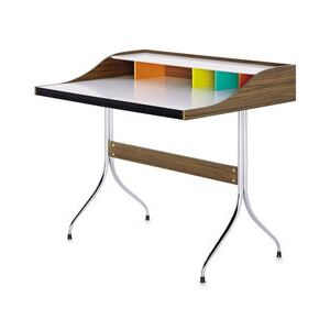 Home Desk Desk - / L 99 cm - By George Nelson, 1958 by Vitra Natural wood