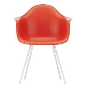 DAX - Eames Plastic Armchair Armchair - / (1950) - White legs by Vitra Red