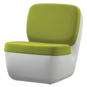 Nimrod Low armchair by Magis White/Green