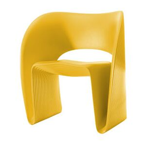 Raviolo Armchair - Plastic by Magis Yellow