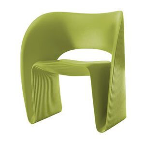 Raviolo Armchair - Plastic by Magis Green