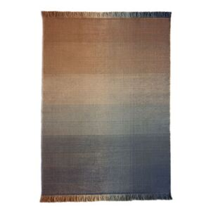 Shade palette 2 Outdoor rug - / 170 x 240 cm by Nanimarquina Blue/Orange