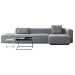 Mags Corner sofa - L 342 cm - Right armrest by Hay Grey