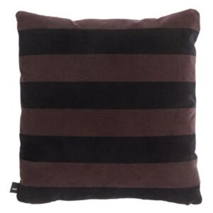 Soft Stripe Cushion - / 50 x 50 cm - Velours by Hay Red