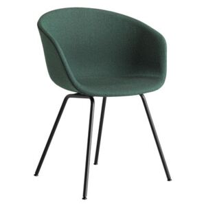 About a chair AAC27 Padded armchair - / Integral fabric & metal by Hay Green