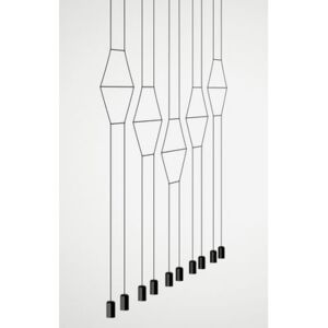 Wireflow Pendant by Vibia Black