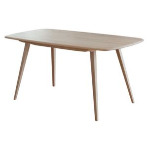 Plank Rectangular table - 152 x 76 cm / Reissue 1950' by Ercol Natural wood