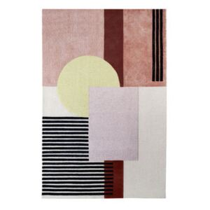 Around colors Rug - / 190 x 300 cm - Hand-tufted by Wiener GTV Design Yellow/Multicoloured