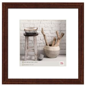 Walther Design Picture Frame Home 40x40 cm Walnut