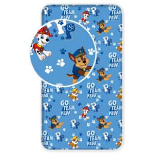 Paw Patrol Team Single Fitted Sheet