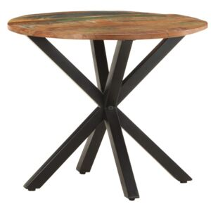 Side Table 68x68x56 cm Solid Reclaimed Wood