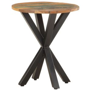 Side Table 48x48x56 cm Solid Reclaimed Wood
