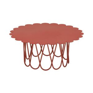 Flower Small Coffee table - / By Alexander Girard, 1977 by Vitra Red