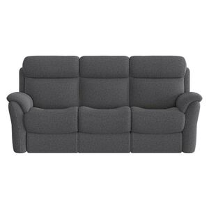 Relax Station Revive 3 Seater Fabric Manual Recliner Sofa